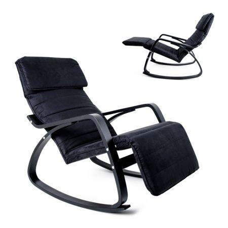 Cadeira de Baloiço Preta
